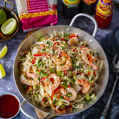 Pad Thai riisinuudlid