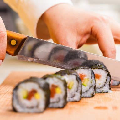 Sushi valmistamine